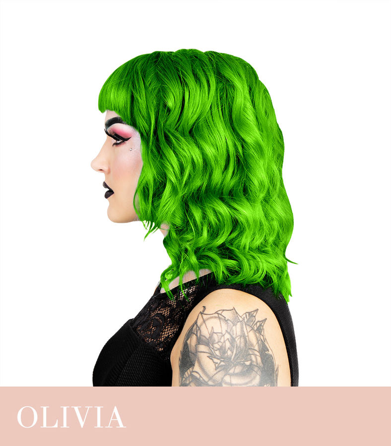 Herman's Amazing UV Olivia Green
